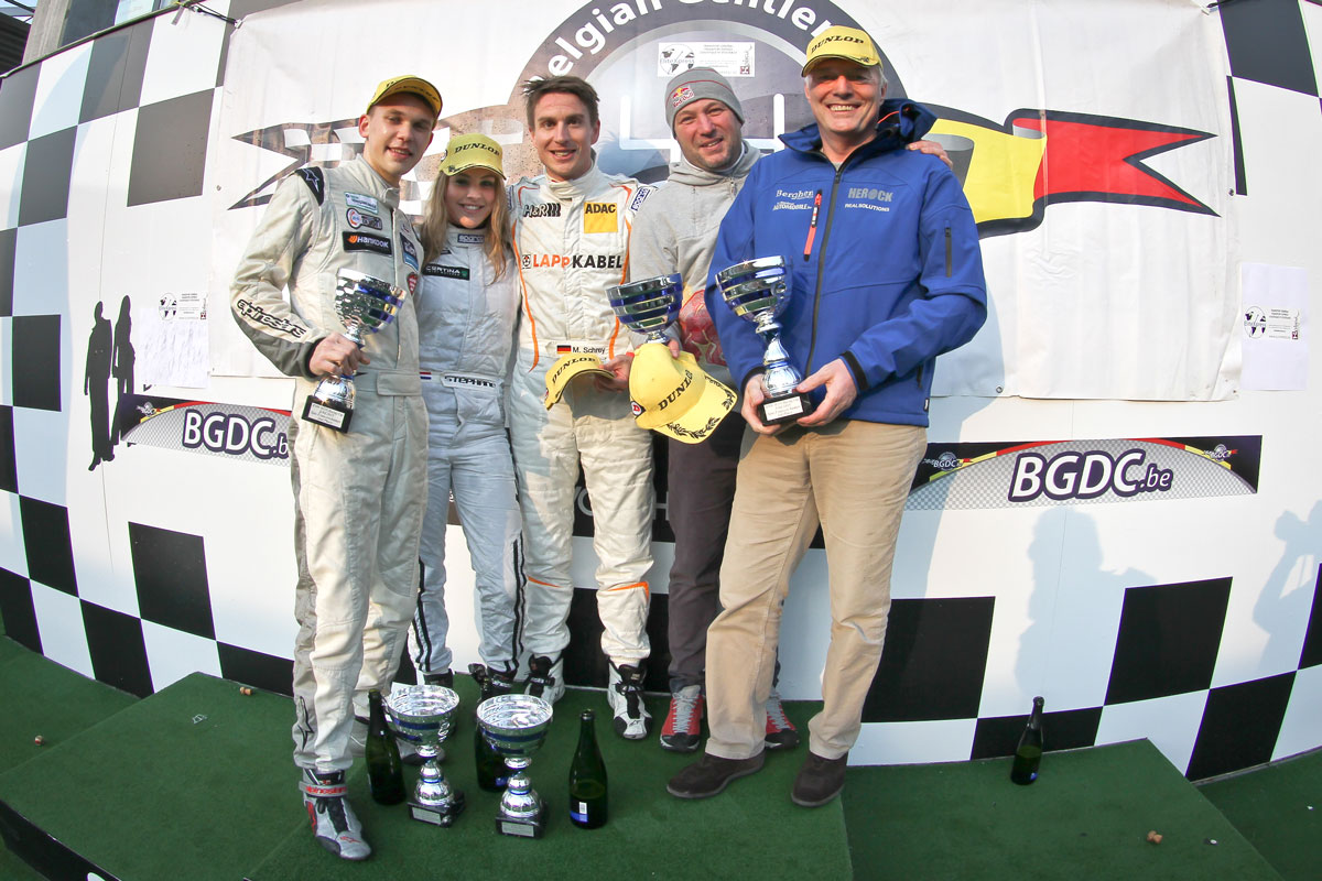 Podium finish at 1st BMW M235i Cup race at Spa-Francorchamps